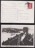 Türkei Turkey 1939 Picture Postcard ISTANBUL To MEMMINGEN Germany - 1934-39 Sandjak Alexandrette & Hatay