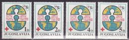 YUGOSLAVIA 1984. Red Cross, MNH (**):VF - Bienfaisance