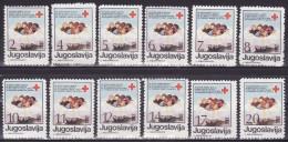 YUGOSLAVIA 1987. Red Cross, MNH (**):VF PERF 10 - Bienfaisance