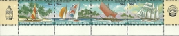 Cocos (Keeling) Islands SG 158-161 1987 Sailing Crafts MNH - Cocos (Keeling) Islands