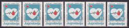 YUGOSLAVIA 1986. Red Cross, MNH (**):VF - Bienfaisance