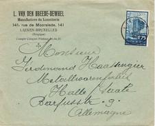 24329. Carta Comercial LAEKEN (Belgien) 1934. Manufactures De Lunetterie - Bélgica
