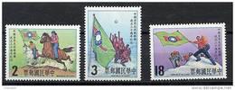 Formose **  N° 1435 à 1437 - 30 Eme An. Du Corps De Jeunesse De Chine