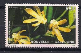 YT N° 614 - Oblitéré - Orchidées - Nueva Caledonia