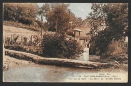 FONTAINE BONNELEAU La Celle La Chute De L'Ancien Moulin (Leroy) Oise (60) - Otros Municipios