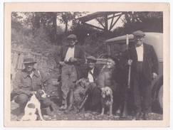 Ancienne Photo Originale Groupe De Chasseurs Chasse - Personnes Anonymes