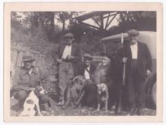Ancienne Photo Originale Groupe De Chasseurs Chasse - Anonyme Personen