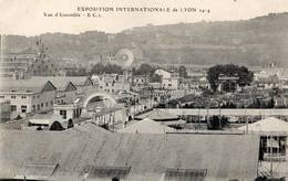 69 - LYON EXPOSITION INTERNATIONALE DE 1914 VUE D'ENSEMBLE - Lyon