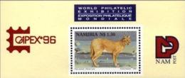 NAMIBIA 1996 Capex Philatelic Exhibition, Lynx, Fauna MNH