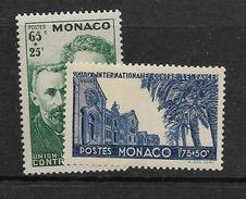 1938 MNH Monaco, Curie, Postfris** - Physics