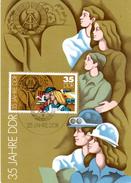 """(M) DDR Amtl. Maximumkarte Mi-Nr. 2901 ESSt. BERLIN 4.10.84 """"35 Jahre DDR - Landwirtschaft"""""""