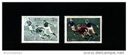 IRELAND/EIRE - 1974  IRISH RUGBY FOOTBALL UNION  SET  MINT NH - 1949-... Repubblica D'Irlanda