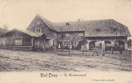Val-Dieu - Le Restaurant (animée, Attelage, Cheval, 1912) - Herve
