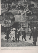 L'ILLUSTRATION 1 6 1907  VERSAILLES - PHARE DE LA COUBRE - CARCASSONNE - ETHIOPIE - COLMAR - BAGATELLE - CUIRASSE VERITE - Journaux - Quotidiens
