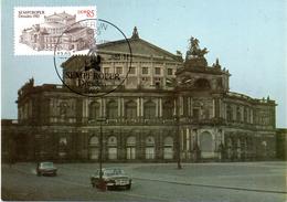 """(M) DDR Halbamtl. Maximumkarte Mi-Nr. 2928 ESSt. BERLIN 12.2.85 """"Semperoper Dresden"""""""