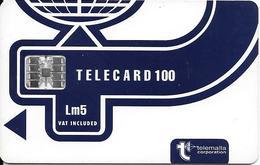 Telemalta: Telecard100 - Malta