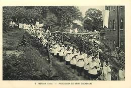 Pays Div-ref H722- Corée - Wonsan -procession D Un Saint Sacrement - Missions -missionnaires -religions -christianisme - - Corée Du Sud