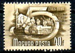 HONGRIE. N°932 Oblitéré De 1950. Tracteur. - Agriculture