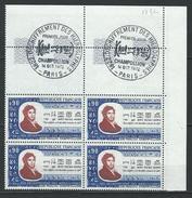 """FR Coins Datés FDC YT 1734 """" Champollion """" Neuf** Paris 14 OCT 1972 - Coins Datés"""