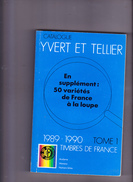 CATALOGUE DE TIMBRES-POSTE YVERT & TELLIER, 1989-90, Tome I, France, Andorre, Monaco, Nations Unies 1989 - France