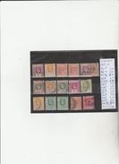 TIMBRES  DE GRANDE-BRETAGNE  CEYLAN  OBLITEREES ,NEUF**/* NR VOIR SUR PAPIER AVEC TIMBRES COTE 21.0€ - Ceylon (...-1947)