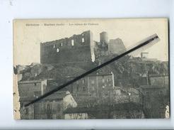 CPA  Très Abîmée  - Corbières  - Durban - (Aude ) - Les Ruines Du Château - Autres Communes