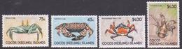Cocos (Keeling) Islands SG 219-222 1990 Crabs MNH - Cocos (Keeling) Islands
