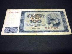 ALLEMAGNE ,  REPUBLIQUE DEMOCRATIQUE ALLEMANDE 100 Mark 1964 , Pick N°  , GERMANY Républic Démocratic - 100 Deutsche Mark