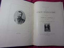 VOYAGE DU PRÉSIDENT DE LA RÉPUBLIQUE EN RUSSIE   Napoléon Aubanel In.folio - 1801-1900