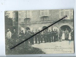 CPA  -  6 Août 1907 - Réunion Des Anciens Éléves Du Petit Séminaire De Semur - Les Servants  - ZZ - Autres Communes