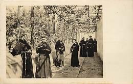 Pays Div-ref H693- Perou -peru - Religieux -lima -jardin De San Franciscan Monastere  - Carte Bon Etat  - - Pérou