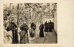 Pays Div-ref H693- Perou -peru - Religieux -lima -jardin De San Franciscan Monastere  - Carte Bon Etat  - - Peru