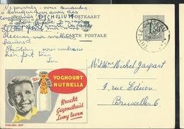 Publibel Obl. N° 1637 ( Yoghourt Nutrelle) Obl. Thy - Le - Château 13/10/1959 - Publibels