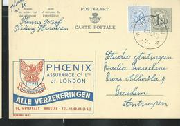 Publibel Obl. N° 1653  ( PHOENIX Assurance Of London) Obl. Herderen 01/12/1959 - Publibels