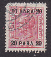 Austrian Offices In Turkish Empire, Scott #40, Used, Emperor Surcharged, Issued 1906 - Austria