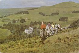 Pony Trekkers From The Castle Hotel Glendevon Perthshire - Royaume-Uni