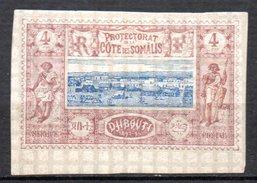 Col 4/ Cote Des Somalis  N° 8 Neuf X MH  Cote 20,00€ - Côte Française Des Somalis (1894-1967)