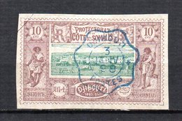 Col 4/ Cote Des Somalis  N° 10 Oblitéré  Cote 11,00€ - Oblitérés