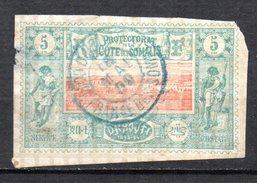 Col 4/ Cote Des Somalis  N° 9 Oblitéré  Cote 8,00€ - Oblitérés