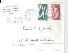 N° PA 39 + N°1583 Sur Lettre RECOMMANDEE Des SABLES D'OLONNE  Du 18/6/1970 - Marcophilie (Lettres)