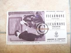 BUVARD Pharmacie FICARMONE Laboratoire L´Endopancrine Tableau Van BREKELENKAM La Consultation Louvre - Produits Pharmaceutiques