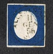 SARDEGNA 1854 20C SASSONE#8  TERZA EMISSIONE - Sardaigne