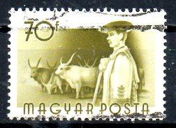 HONGRIE. N°1166 Oblitéré De 1955. Vaches.