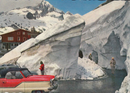 Nash Metropolitan,Rhonegletscher Bei Belvedere,gelaufen - Voitures De Tourisme