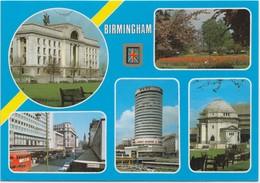 BIRMINGHAM, UK, Multi View, Used Postcard [20070] - Birmingham