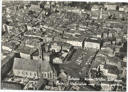 Y3171 Bolzano Bozen - Piazza Walter Walterplatz - Panorama Aereo Vista Aerea Aerial View Vue Aerienne / Viaggiata 1963 - Bolzano (Bozen)