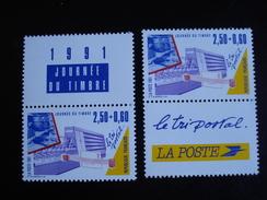 France - Année 1991 - Journée Du Timbre (ex Carnet) - Y.T. 2689 X 2 - Neuf (**) Mint (MNH) Postfrisch (**) - Nuovi