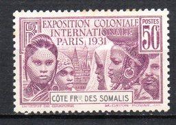 Col 4/ Cote Des Somalis N° 138 Neuf X MH   Cote 8,25€ - Oblitérés