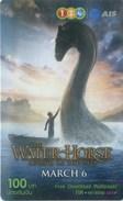 Mobilecard Thailand - 12Call - Movie,Film,cinema - The Water Horse (3) - Kino
