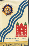 Vimpel  För  GÔTEBORG-CAMLESTADEM.   SUEDE.    Rotary International - Organisations